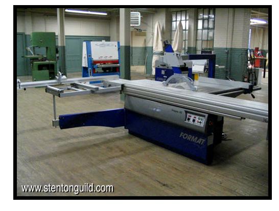 Felder Sliding Table Saw | Stenton Guild Arts Building